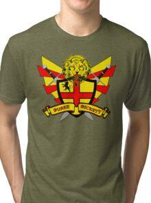 Burke Beckett Coat of Arms Tri-blend T-Shirt