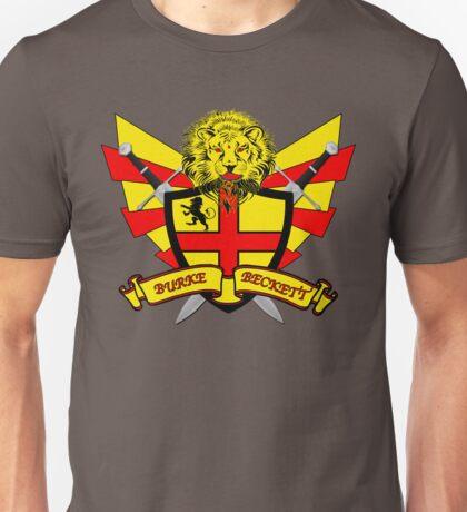 Burke Beckett Coat of Arms Unisex T-Shirt