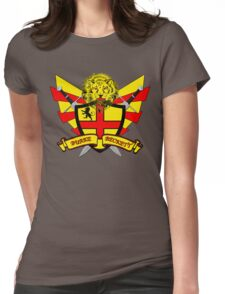 Burke Beckett Coat of Arms Womens Fitted T-Shirt