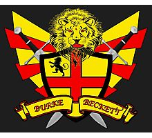 Burke Beckett Coat of Arms Photographic Print
