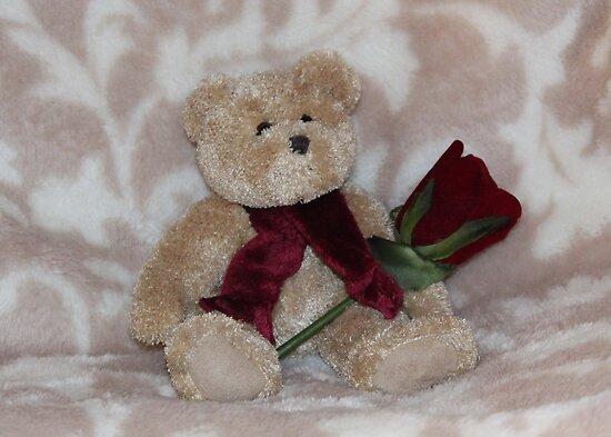 Valentine Teddy by AnnDixon