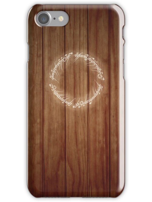The One Ring iPad Case by Sarah  Mac