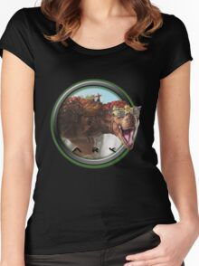 ARK SURVIVAL EVOLVED - TREX Women's Fitted Scoop T-Shirt