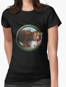 ARK SURVIVAL EVOLVED - TREX Womens Fitted T-Shirt