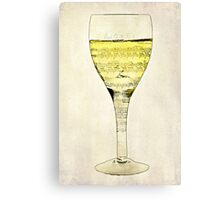 Music is the Wine that Fills the Cup of Silence Canvas Print