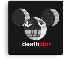 Death5tar Canvas Print