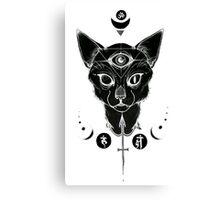 Third eye Cat Canvas Print