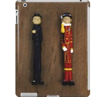 The English Men in Color iPad Case/Skin