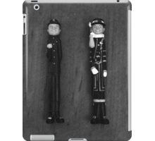 The English Men in Black and White iPad Case/Skin