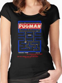 Pugman Women's Fitted Scoop T-Shirt