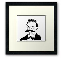 Cool like Nietzsche Framed Print