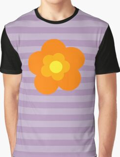 Flowers, Blossoms, Blooms, Petals - Orange Yellow Graphic T-Shirt