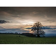 Devonshire Sunset Photographic Print