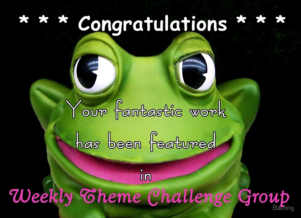 Weekly Theme Challenge Banner by Barbny