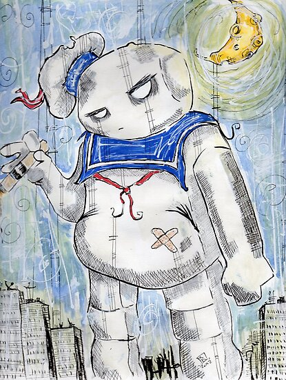 stay puft by simon dixon