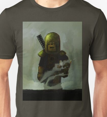 One Man Tank Returning From Battle Unisex T-Shirt