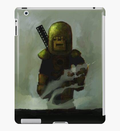 One Man Tank Returning From Battle iPad Case/Skin