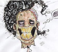 zombie afro by simon dixon