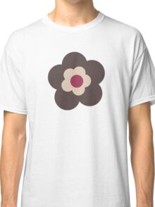 Flowers, Blossoms, Blooms, Petals - Pink Beige Classic T-Shirt