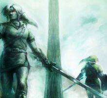 Legend of Zelda Dark Link Sticker