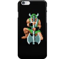 Won't axe you twice iPhone Case/Skin