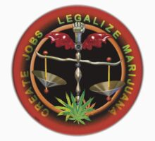 Create Jobs Legalize Marijuana by Valxart