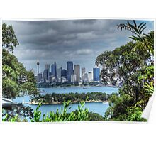 Sydney From Toronga Zoo Poster