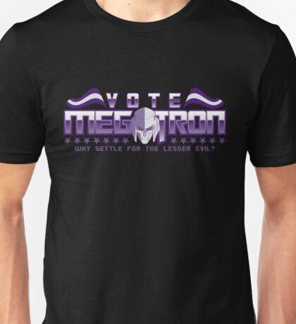 Vote Megatron! Unisex T-Shirt