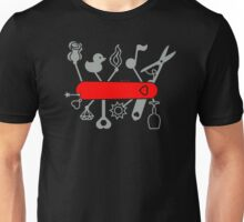 Swiss Army Knife for Lovers Unisex T-Shirt