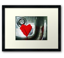 130/365  even in the kitchen sink..... Framed Print