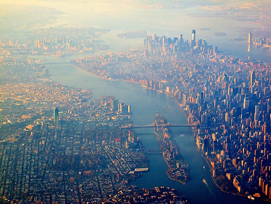 New York from the Air  (2012) by zoharma