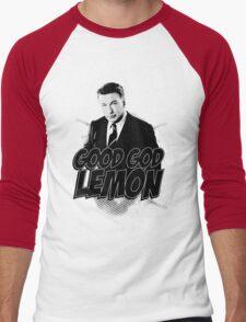 Good God Lemon!!!?! Men's Baseball ¾ T-Shirt