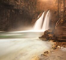 Plitvice waterfall by Ivan  Prebeg