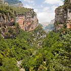 Canyon di Aniscola, Spain by LaurentS