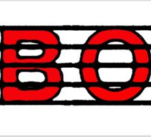 Oboe Red II Sticker
