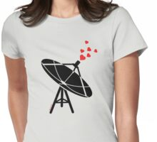 Love Antenna Womens Fitted T-Shirt