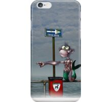 Sea Monkeys are Proper Stupid Creatures iPhone Case/Skin