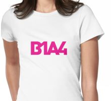 B1A4 Pink Logo Womens Fitted T-Shirt