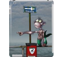 Sea Monkeys are Proper Stupid Creatures iPad Case/Skin