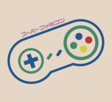 Super Nintendo Pad (painting) by SFC-Guy
