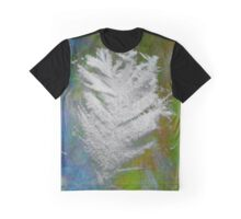 Icy Feather Graphic T-Shirt