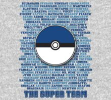 Pokemon: The Super Team by talkpiece