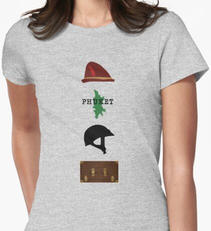 August Wayne Booth Womens Fitted T-Shirt