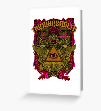 The Mars Volta  Greeting Card