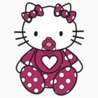 funny,cute hello kitty baby T-Shirts & Hoodies Kids, Clothes,Stickers by boomer321sasha