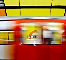 Mind the gap - Baker Street by Chilla Palinkas