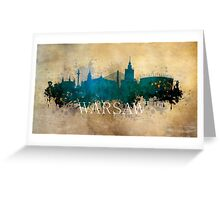 Warsaw Poland Greeting Card