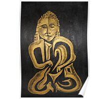 Buddha Metalica Poster