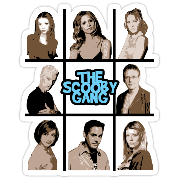 The Scooby Gang by talkpiece