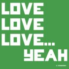Love Love Love T-shirt by Strangeway Tees